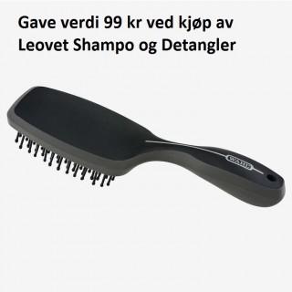 Gave! Kjøp Leovet Showshine og Shampo og få med børste