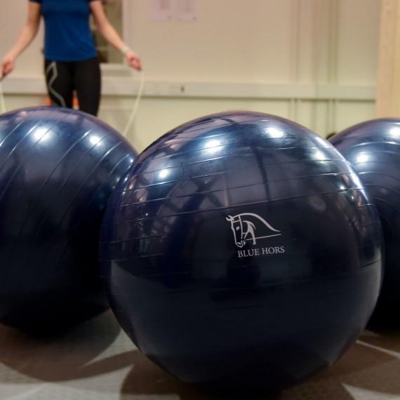 Balanse-treningsball  fra Blue Hors