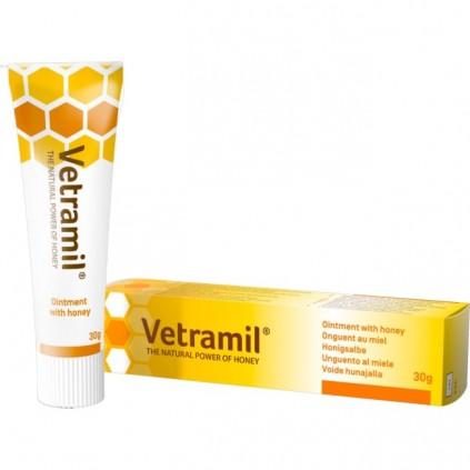 Sårsalve med honning fra Vetramil