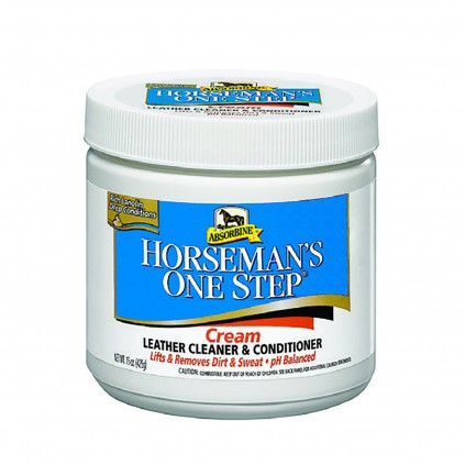 One step Leather Cleaner fra Absorbine